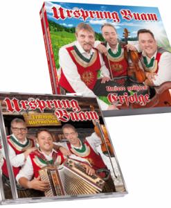 totaal 4 cd's van de ursprung Buam incl de nieuwe van 2016
